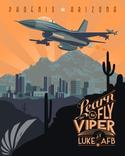luke-f-16-learn-to-fly-the-viper-military-aviation-poster-art-print