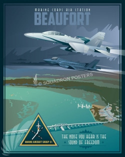 MCAS_Beaufort_FA-18_F-35_MAG-31_SP00988-featured-aircraft-lithograph-vintage-airplane-poster-art