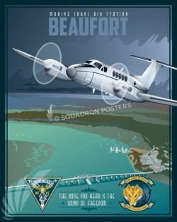 MCAS_Beaufort_Swamp_Foxes_SP00989-featured-aircraft-lithograph-vintage-airplane-poster-art