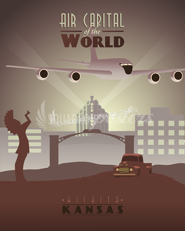 Mcconnell Afb Kc 135 Wichita Ks Squadron Posters