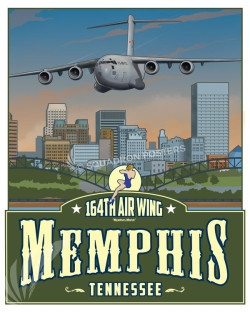 Memphis C-17 164th AW SP00657 feature-vintage-print