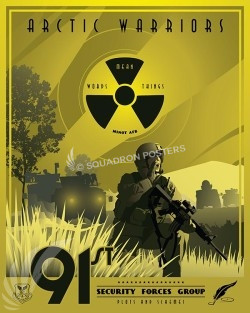 Minot AFB - 91st Security Forces minot-afb-91st-security-forces-group-military-aviation-poster-art -print-gift