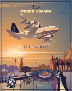 Moron_C-130_VMGR-252_SP00830-V2-featured-aircraft-lithograph-vintage-airplane-poster-art