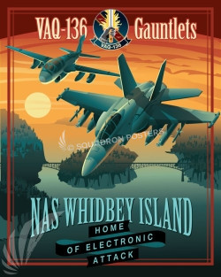 NAS Whidbey EA-18 VAQ-136 SP00693 feature-vintage-print