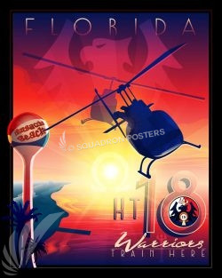 NAS Whiting Field HT-18 NAS_Whiting_Field_TH-57C_HT-18_SP01399-featured-aircraft-lithograph-vintage-airplane-poster-art