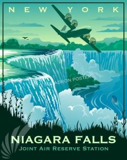 Niagara Falls C-130H SP00720 feature-vintage-print