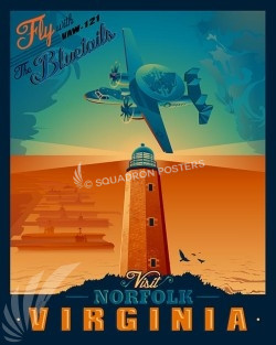 Norfolk-VAW-121-Bluetails-SP00493-vintage-military-aviation-travel-poster-art-print-gift