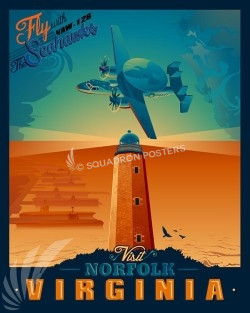 Norfolk-VAW-126-Seahawks-SP00490-vintage-military-aviation-travel-poster-art-print-gift