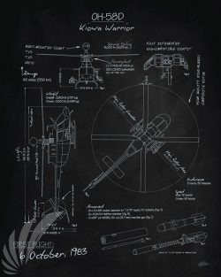 oh-58d_kiowa_warrior_blackboard_blueprint_sp01149-featured-aircraft-lithograph-vintage-airplane-poster-art