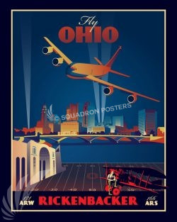 Ohio ANG 121 ARW 166 ARS Ohio_KC-135_121_ARW_SP01330-featured-aircraft-lithograph-vintage-airplane-poster-art