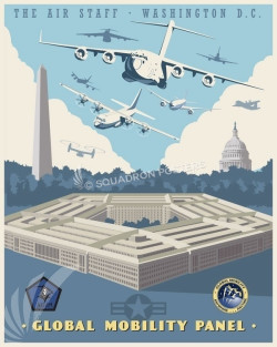Pentagon_Air_Staff_SP00867-featured-aircraft-lithograph-vintage-airplane-poster-art