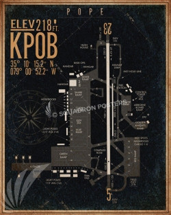 Pope_afb_KPOB_airfield_map-SP00897-featured-aircraft-lithograph-vintage-airplane-poster-art