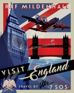 Royal Air Force Station Mildenhall raf_mildenhall_uk_c-130_combat_talon_sp01202-featured-aircraft-lithograph-vintage-airplane-poster-art