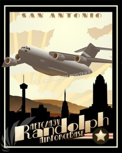 Randolph C-17 SP00511-military-aviation-poster-art-print-gift