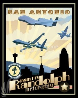 Randolph_RQ-4_MQ-9_558th_FTS_SP01522-featured-aircraft-lithograph-vintage-airplane-poster-art