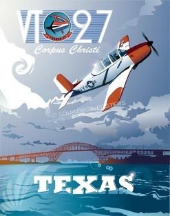 Corpus Christi T-34B VT-27 military-aviation-poster-art-print-gift-SP00111