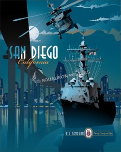 San Diego DDG-102 Feature