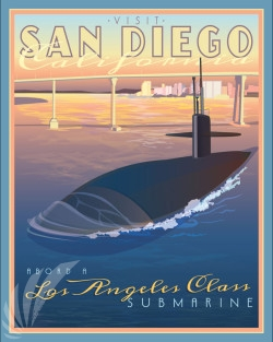 San_Diego_CA_Sub_SP00927-featured-naval-lithograph-vintage-sub-poster-art