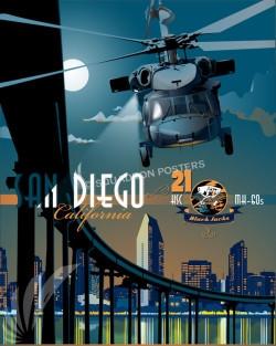 San Diego MH-60 HSC-21 SP00691 feature-vintage-print