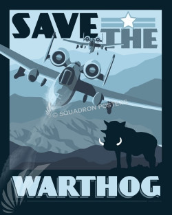 Save-the-A-10-warthog-poster