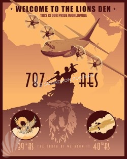 Senegal C-130J 787 AES SP00623-vintage-military-aviation-travel-poster-art-print-gift