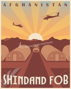 Shindand FOB SP00587-vintage-military-aviation-travel-poster-art-print-gift