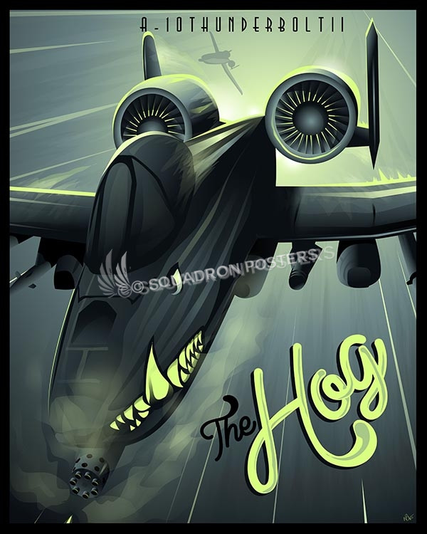 A 10 Warthog Squadron Posters