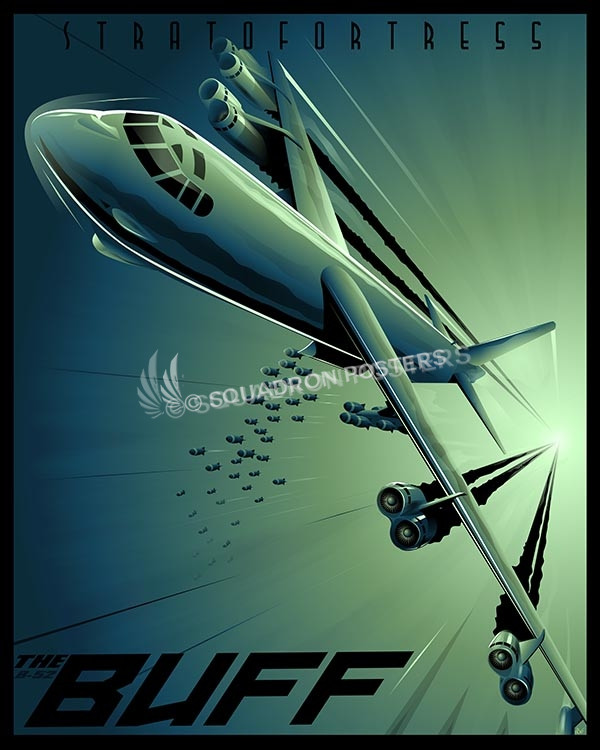 B 52 Shock Wave Squadron Posters