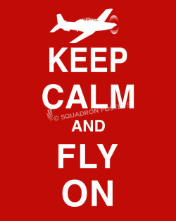 T-6 Keep-Calm-Fly-On-Red