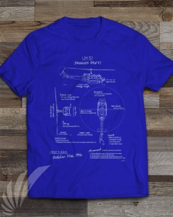 TS-106-UH1DBlueprint-Featured-Image-Royalblue-t-shirt