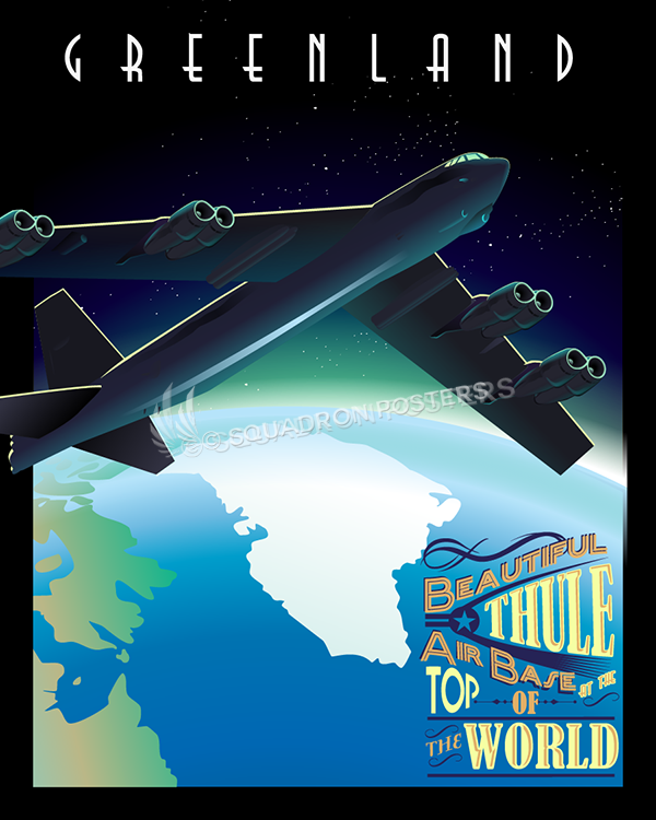 Thule Air Base Greenland Poster Squadron Posters