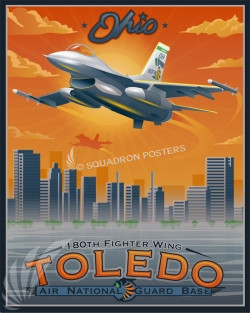 Toledo F-16 180FW SP00728 feature-vintage-print