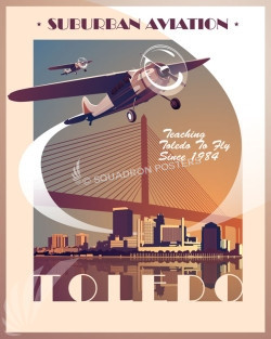 Toledo Cessna SP00663 feature-vintage-print