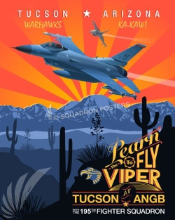 Tucson_Az_F-16_195th_FS_SP00800-featured-aircraft-lithograph-vintage-airplane-poster-art