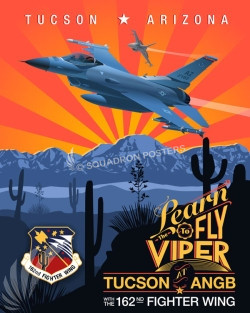 Tuscon ANG Base F16 162nd SP00645 feature-vintage-print