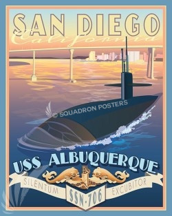 USS Albuquerque CA SP00575-vintage-military-aviation-travel-poster-art-print-gift