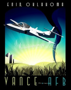 vance-afb-t-37-tweet-military-aviation-poster-art
