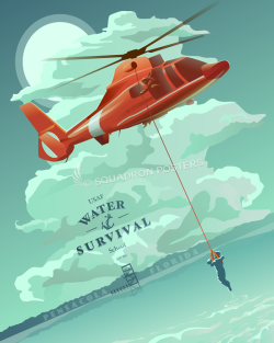 water-survival-pensacola-sv-86-usaf-military-aviation-poster-art