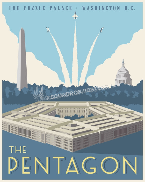 The Pentagon Squadron Posters