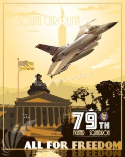 shaw-afb-79th-afb-military-aviation-poster-art-print