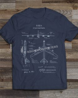 B-52 Blueprint T-Shirt