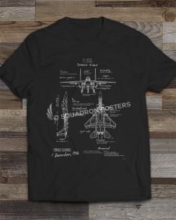 F-15E Blueprint T-shirt