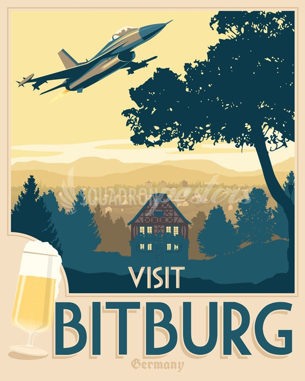 vintage-Spangdahlem-germany-f-16-military-aviation-poster-art