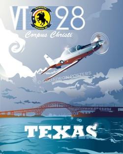 corpus-christi-t-6b-texan-ii-vt28-military-poster-art