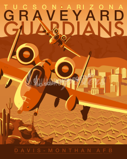 davis-a-10-military-aviation-poster-art