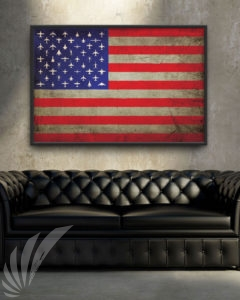 USA Flag Art