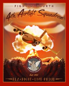 4th_AS_C-17_v2_SP00717_featured-aircraft-lithograph-vintage-airplane-poster