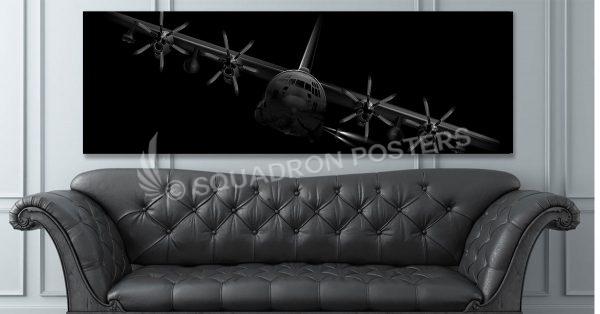 AC-130J-ghostrider-banked-SP01267-social-tab-on-woocommerce-jet-black-artwork-airplane