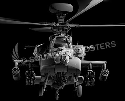 Jet_Black_AH-64_Apache_60x20_SP01273-military-air-force-aviation-artwork-poster-jet-black-litho-art