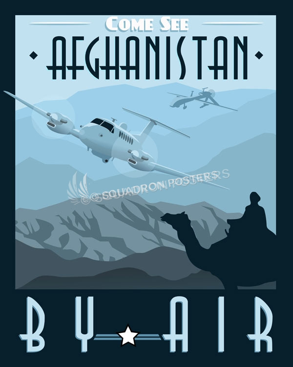 Come See Afghanistan Mc 12 Mq 1 Squadron Posters